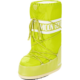 Moon Boot Nylon Boots, lime